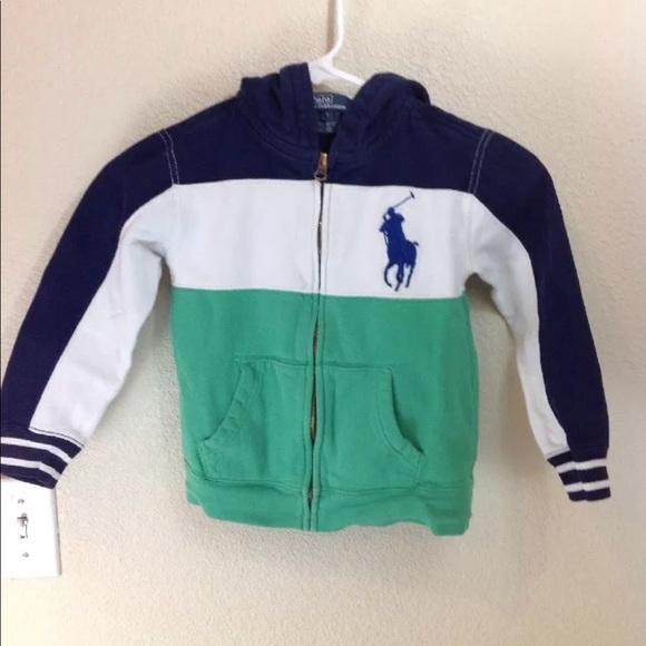 6f4752b79 Polo by Ralph Lauren Boys Hoodie SZ 6 Big Pony. M_5b299dff03087c6bc2600191